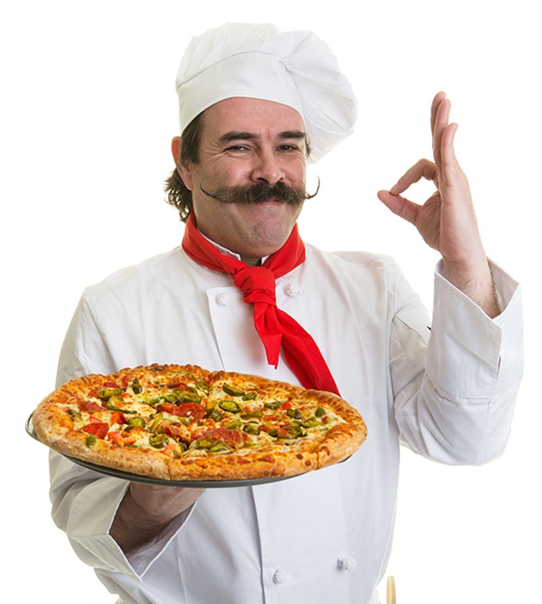 man-pizza